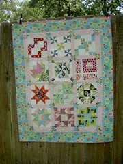 Quilted Sugar Pop Quilt