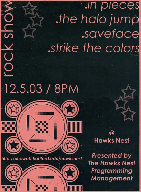 In Pieces / The Halo Jump / Saveface / Strike The Colors