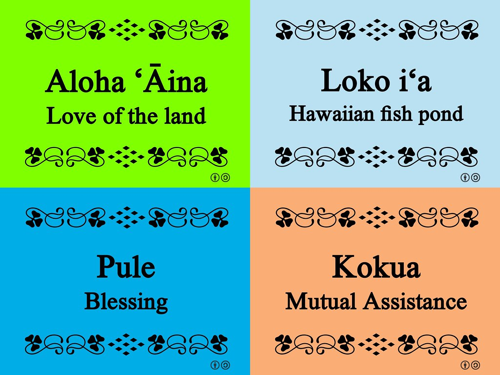 Some of the Hawaiian words we've learned thanks to the #IU