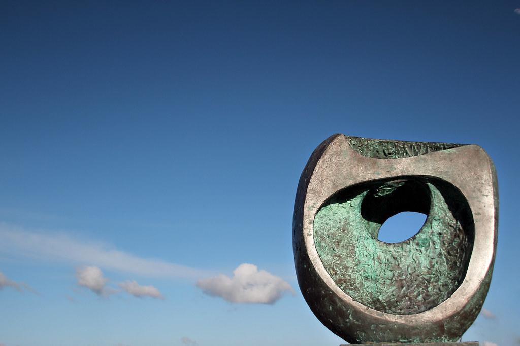 Barbara Hepworth sculpture, St.Ives