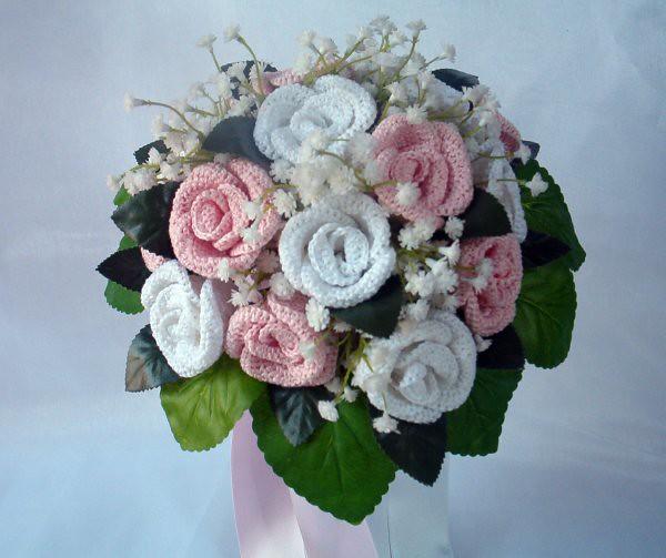 Bouquet Sposa Rose Rosa.Bpouquet Rose Rosa Jpg Bouquet Sposa Rose Realizzate All U Flickr