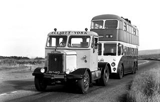 Elliott York Scammell & Rotherham Daimler Trolleybus (2) | by berisfordjones