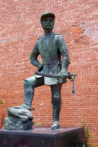 usa men oklahoma military statues civilwar photographs northamerica americans males soldiers adults americanhistory elreno