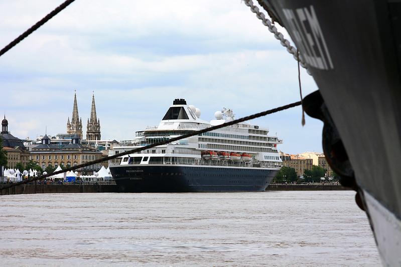 Paquebot Prinsendam - Bordeaux - 30 juin 2012