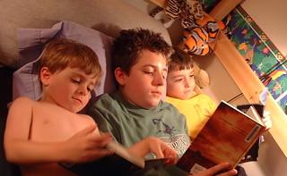Boys reading | by kbowenwriter