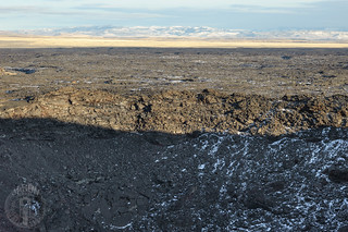 Across to the far rim of Coffeepot Crater