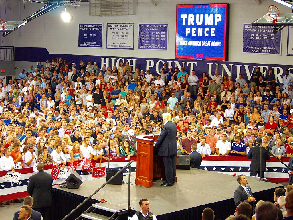 Donald Trump High Point, NC 9 20 2016