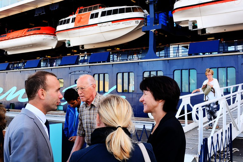 Visite du Mein Schiff 1 - Bordeaux Le Verdon - 17 septembre 2016