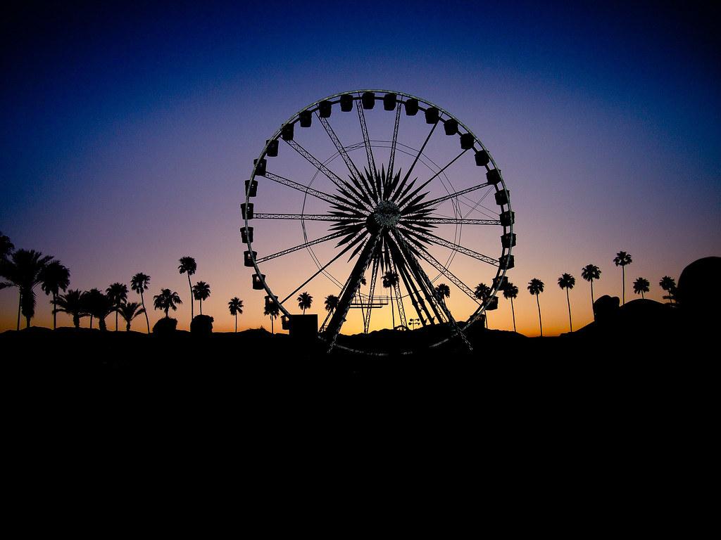 Coachella Ferris Wheel A Photo On Flickriver