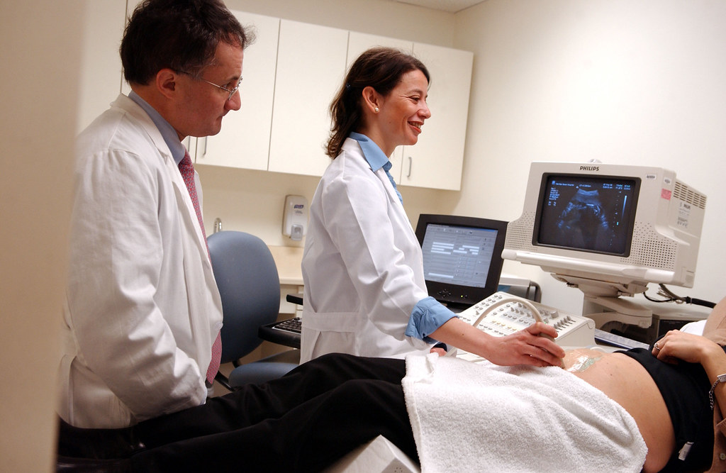 There are many types of diagnostic medical sonographers including those who take images of fetuses.