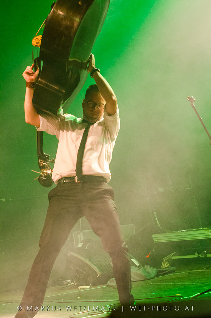 Austrian Rock 'n' Roll band THE MONROES performing live @ PFINGSTSPEKTAKEL 2012, Attnang-Puchheim on May 26th, 2012