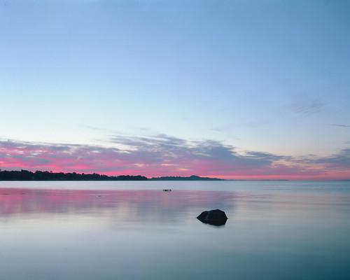 sky ontario canada film sunrise lakeerie kodak niagara 4x5 graflex crowngraphic selfdeveloped portra160nc c41 wainfleet longishexposure
