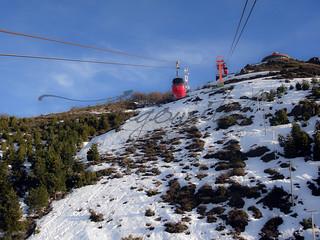 Teleférico en Cerro Catedral - Bariloche, Argentina
