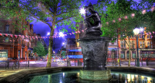 Venus Fountain in Sloane Square close up | by Anatoleya