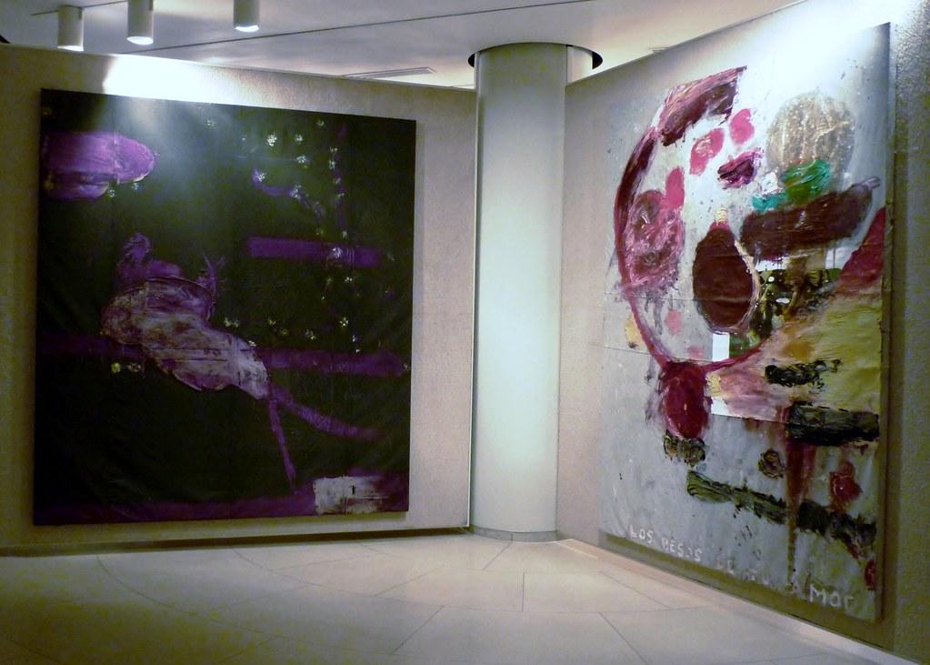 Philip Johnson Glass House JUN2012 Painting Gallery Schnabel 2