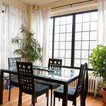 Sunshine on your mind with all the sun shining into your bright Evanston sunroom.