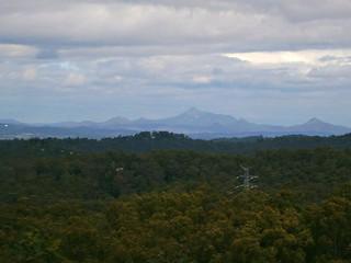 Flinders Peak & Teviot Range   by Neil Ennis