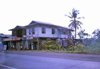 Roadside business houses - outside Panabo City