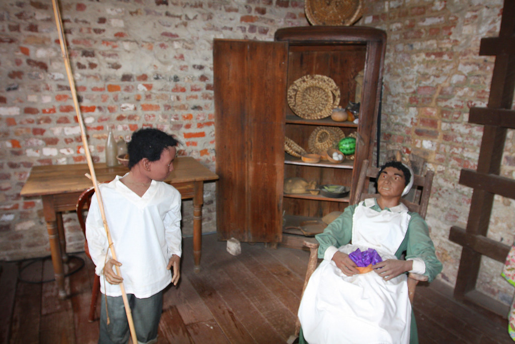 Inside of a Slave Cabin | This scene is located inside an ...