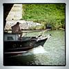 kräftig auf dem Kanal by burmaashave