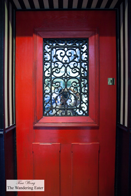 Faux front entrance