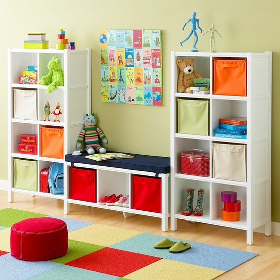 Creative Storage Solutions for Kids Rooms | Xoyos.com | Flickr