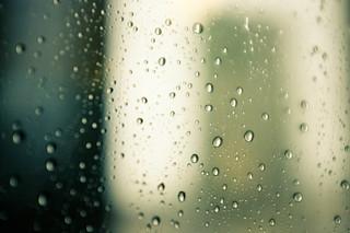 Rainy Day in Melbourne Australia