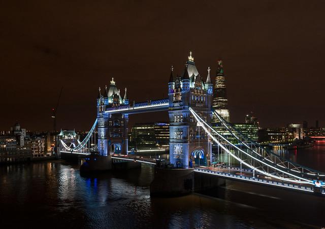 Tower Bridge Relighting