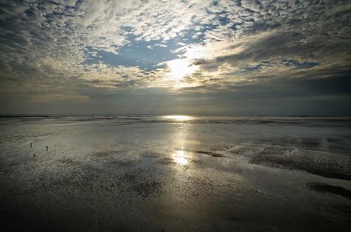 sunset sea sky people pentax k5 da14mmf28