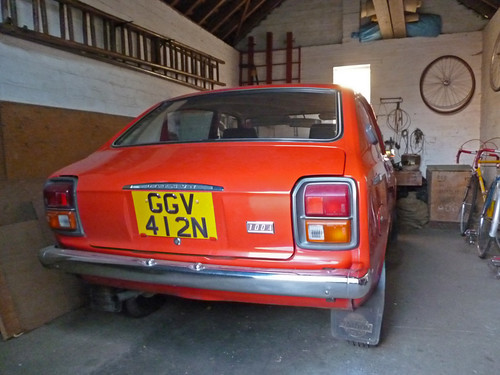 1974 Datsun 100A 4dr (E10) 1-owner from new   by Spottedlaurel