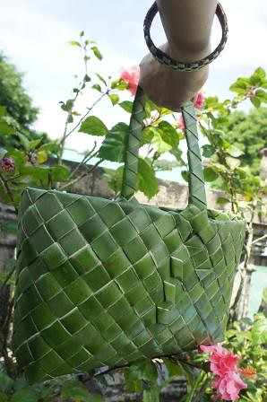 Herb Basket made of karagumoy | by AlmaGamil_Philippines