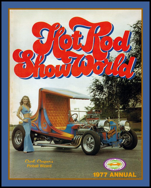 Hot Rod Show World Program, 1977