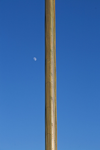 Obelisco de la Caja, Plaza Castilla, Madrid, Spain