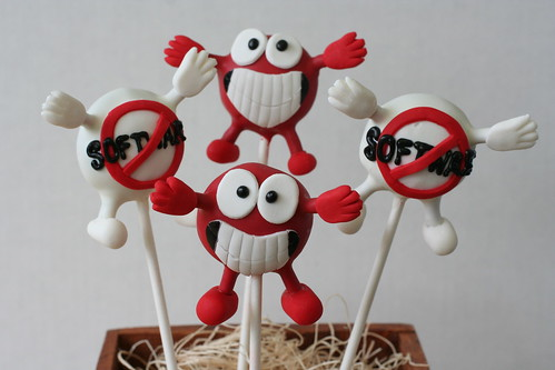 Corporate Logo Cake Pops | by Sweet Lauren Cakes