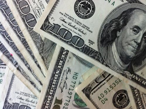 100 Dollar Bills | by Philip Taylor PT