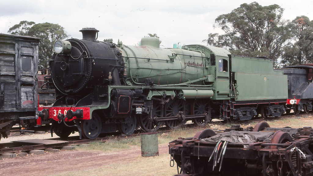 NSWGR_BOX006S04 - 3609 at NSWRTM, Thirlmere by michaelgreenhill