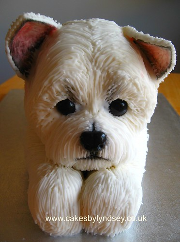 westie | by Cakes by Lyndsey