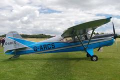 G-ARCS Auster D6180 Popham 200708