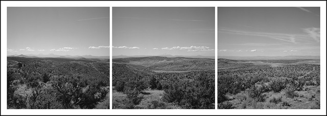 Hay Creek Ranch Triptych
