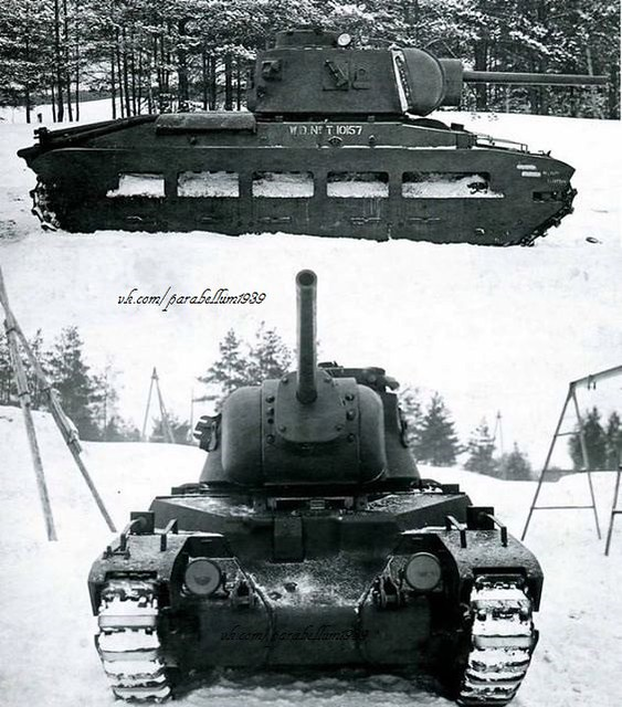 Matilda with 76mm cannon (Soviet version)