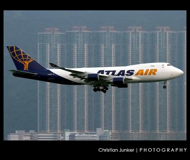 B747-47U/F   Atlas Air   N499MC   HKG