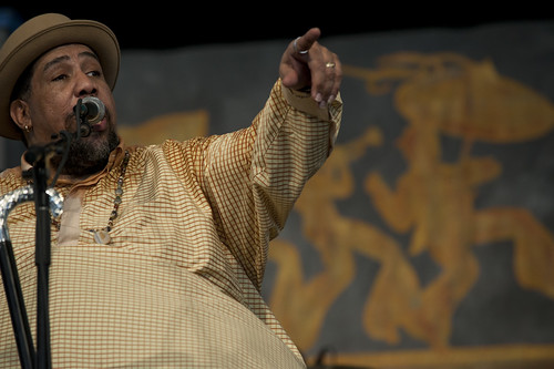 Big Al Carson at Jazz Fest 2012.  Photo Ryan Hodgson-Rigsbee.