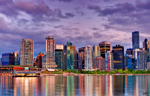 sunset canada skyline vancouver downtown cityscape bc nightscape britishcolumbia surreal stanleypark bluehour hdr goldenhour vancouverdowntown hallelujahpoint soulocreativity3 soulocreativity4