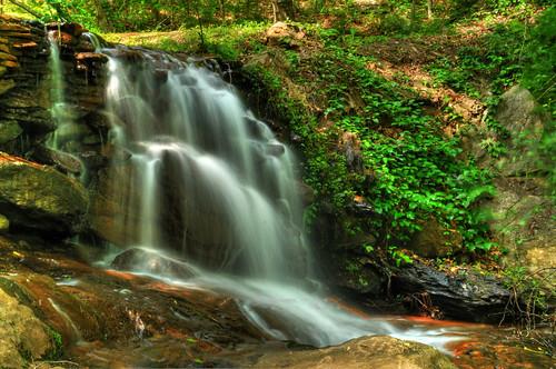 creek gorge georgiawaterfalls historicbanningmills banningmills georgiasnake ziplinewhitesburg creeksnake