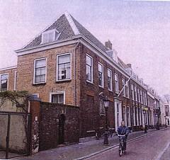 <p>Het voormalige woonhuis van Nicolaas Beets, Boothstraat 6. Foto: Het Utrechts Archief</p>