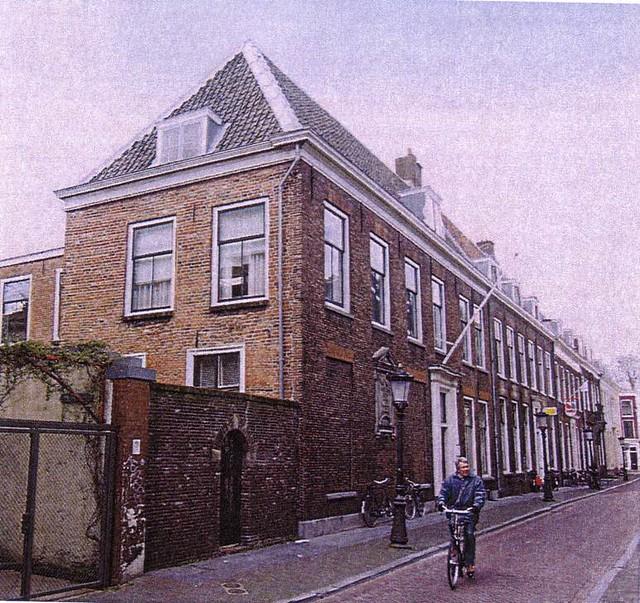 Het voormalige woonhuis van Nicolaas Beets, Boothstraat 6. Foto: Het Utrechts Archief