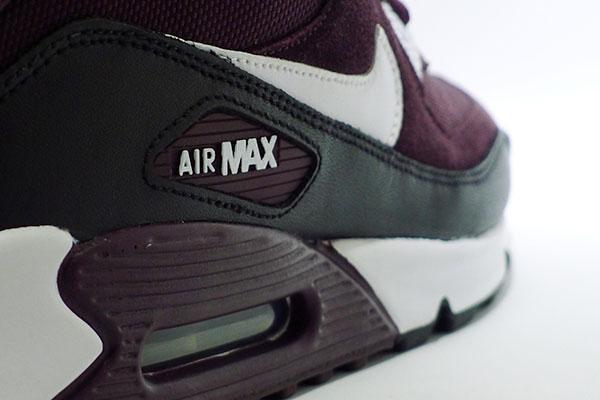 nike air max 90 burgundy black 325018 60   SHELFLIFE STORE