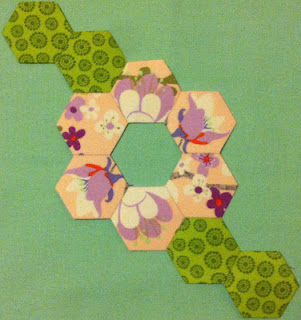 DHWQ Week 50 Guest Blogger - Peach Blossom Perfection | by Quiltjane