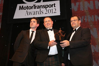 Palletline PLC scoop 'Best Network' in the Motor Transport Awards 2012 | by Shepherd Distribution Services