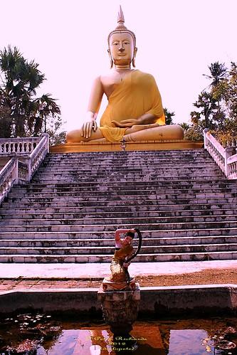 Wat Ban Paang.  วัดบ้านปาง   by ol'pete